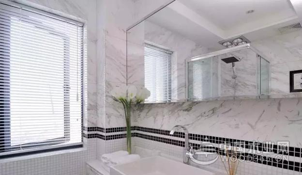 20款大理石洗手台面图片,好看、耐用、易清理