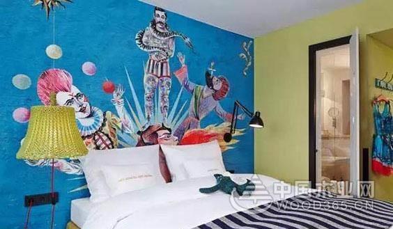 酒店壁画效果图,生动和逗趣让你停留25hours