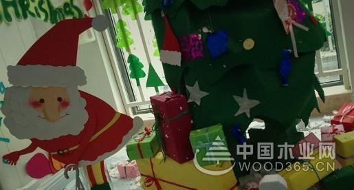 圣诞节环创场景布置图片