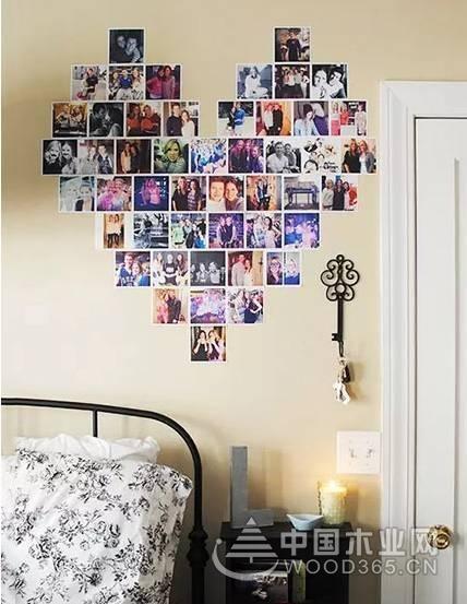 11张相片墙图片集锦,这样摆才最惹