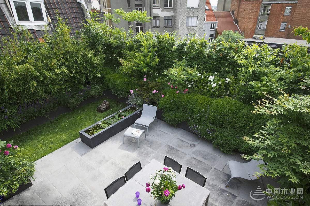 8款实拍屋顶花园图片,八种不同风格屋顶花园设计