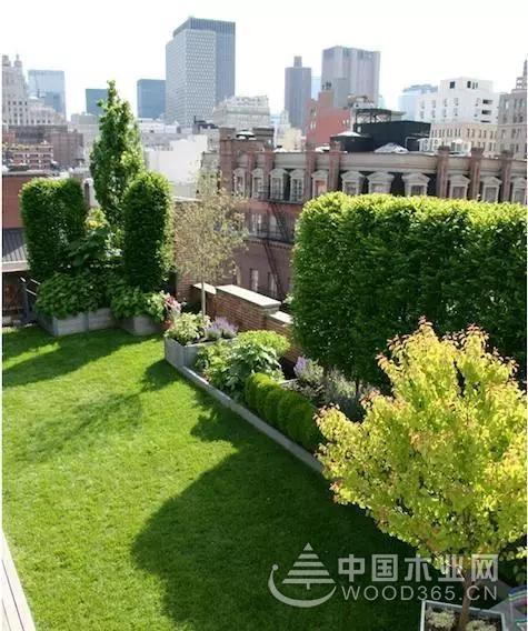 20款精品屋顶花园设计效果图片