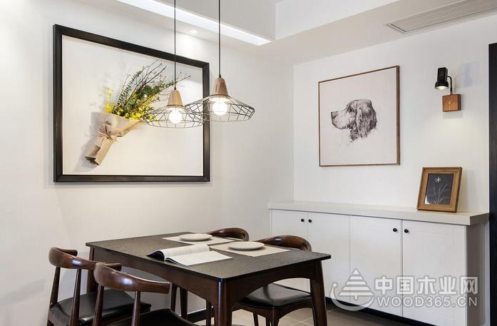 20款餐厅背景墙图片,这样吃饭有家的味道!
