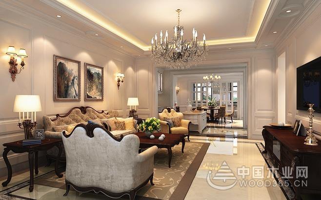 15张别墅客厅设计效果图赏析