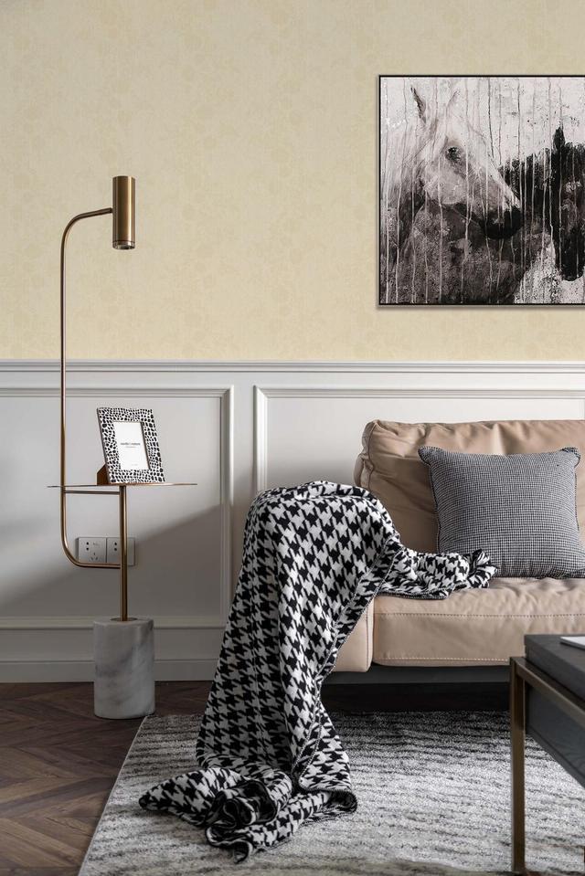 客厅墙布效果图:90%设计师的家都这么装修