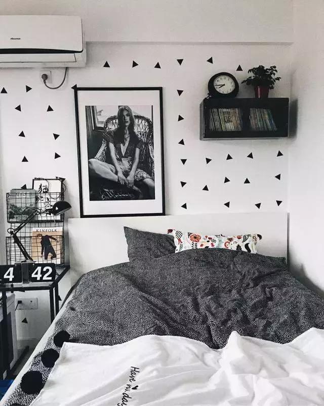 一个不足8m 的小卧室可以怎么装修?