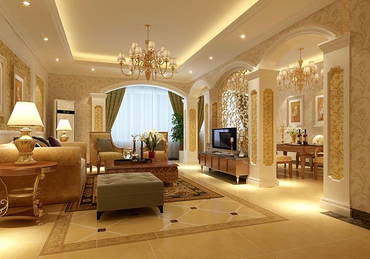 欧式客厅装修效果图好不好看?