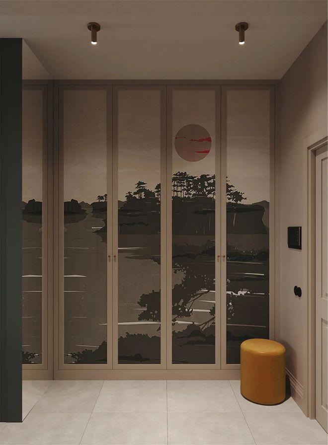 85㎡小宅融合中西式装修风格