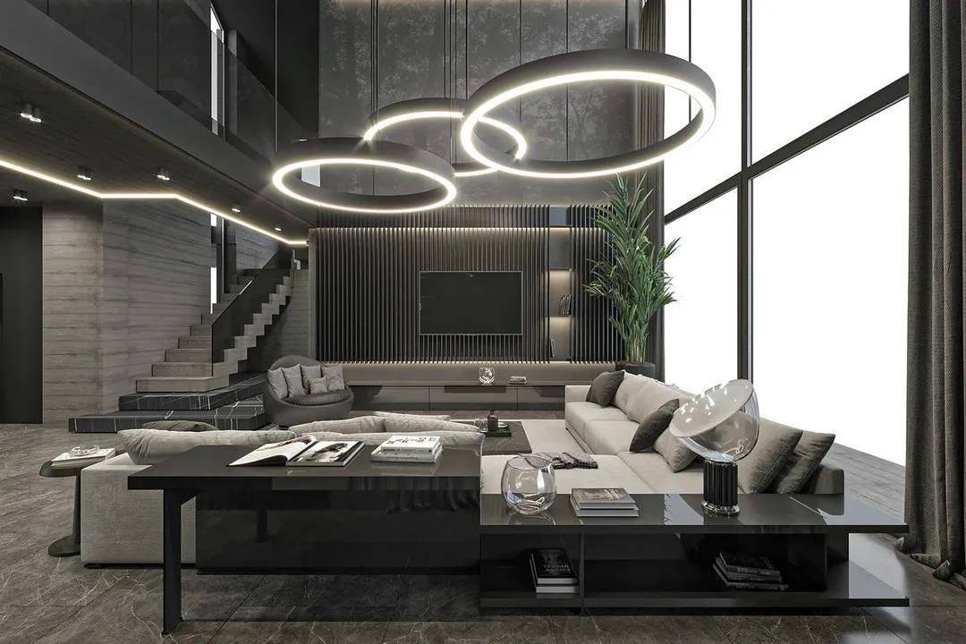 意式整装家居空间:低调中演绎高�K贵的生活状态