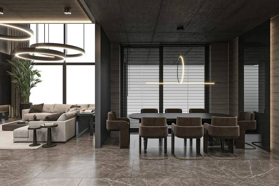 意式整装家居空间:低调中演绎交易高贵的生活状态