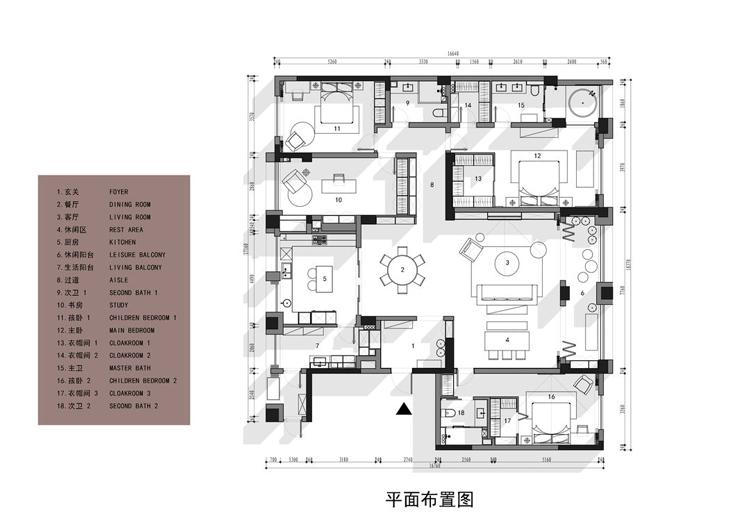 280㎡融合之家 陈宅Residence of chen