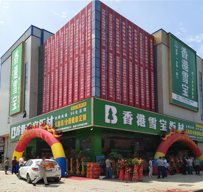 品牌旗舰店_板材十大品牌香港雪宝旗舰店标准-中国木业网
