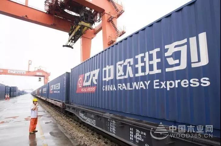 一带一路木材班列如火如荼,将改变中国木材市场格局!