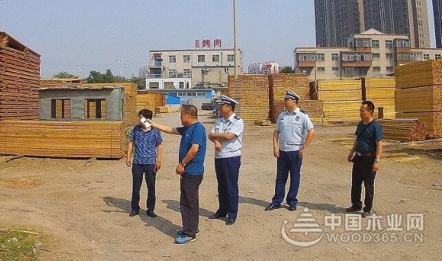 唐山丰润区开展木材市场消防宣传工作