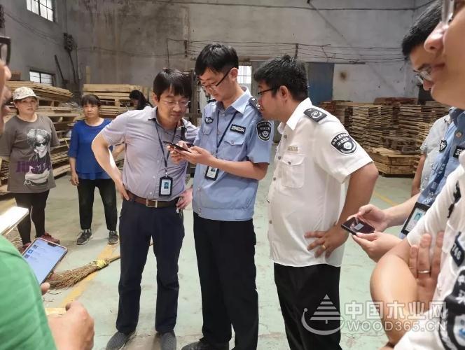 聯合執法  浙滬2家木制品加工企業未履行環評手續被查