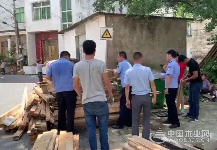 安徽歙县发现违规调入松木及制品被罚5000元