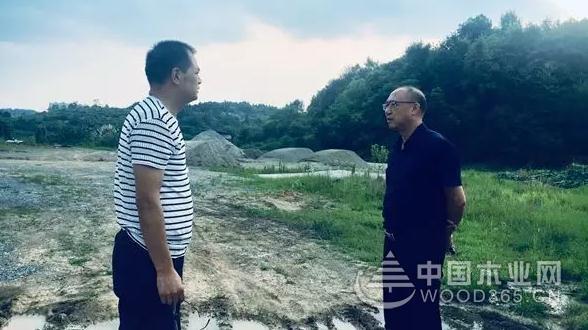 """隆回县委副书记、县长全力为木材市场搬迁找""""婆家"""""""