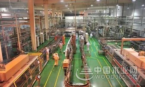 全国首条全智能制造自动化木材生产线下月在兰州新区投运