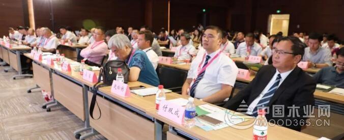 """桑墟镇再膺""""中国十大木业产业园""""荣誉称号"""