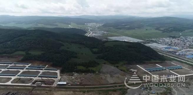中俄木材加工交易中心逐步进入常态化运营