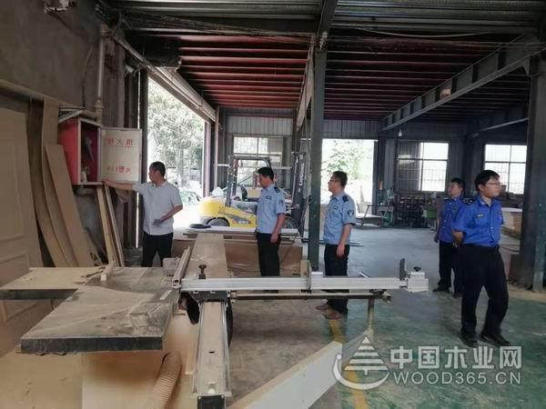 滕州鲍沟镇开展国庆期间木业安全生产大检查