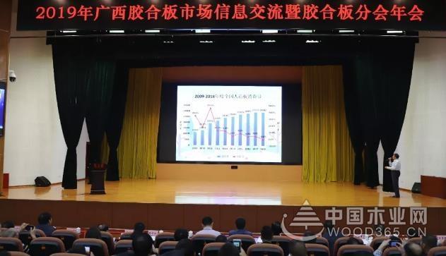 广西胶合板市场信息交流暨胶合板分会年会在贵港港南召开