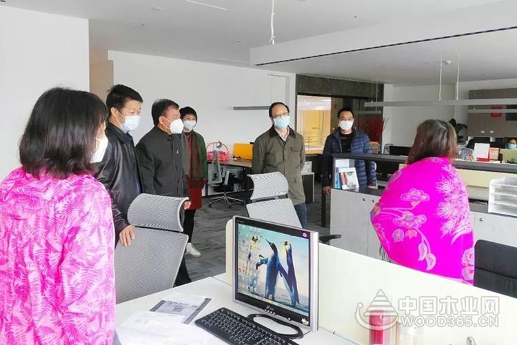 佛山市委常委、统战部部长李政华调研联邦集团复工复产及疫情防控工作