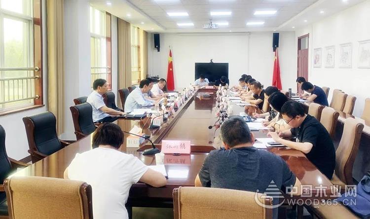 临沂义堂召开全市细化落实木业产业转型升级实施方案座谈会