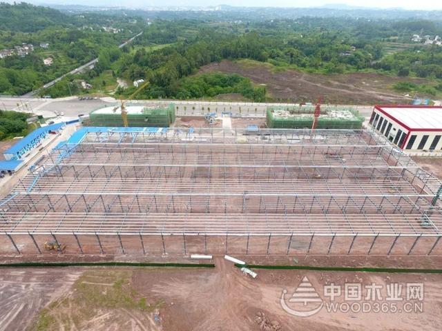 广安生态木业产业园加快建设