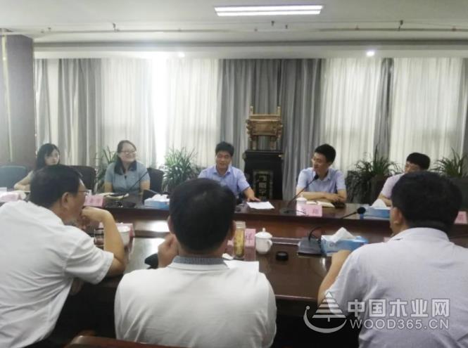 临沂市县镇三级联动,部门会商为木业转型升级献计出力
