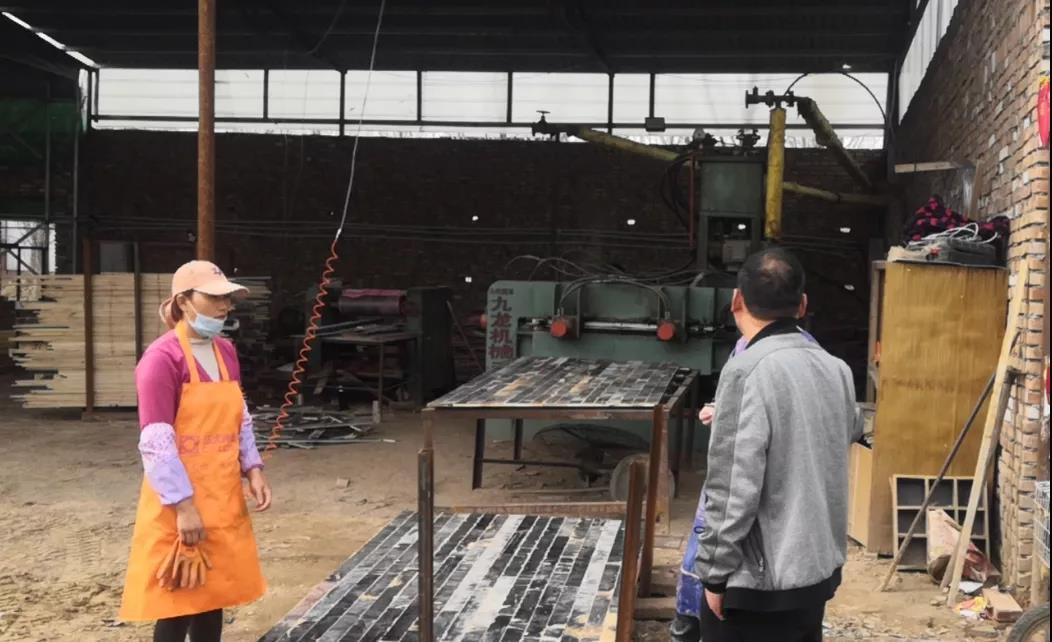 违规生产!曹县庄寨一木材加工厂责令限期整改!