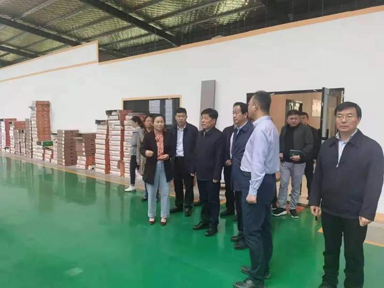 沭阳县县长检查木材加工和家具制造业转型升级工作