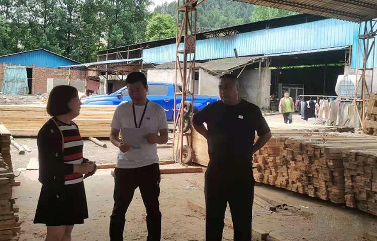 四川西充2家木材加工企业存在环境违法问题