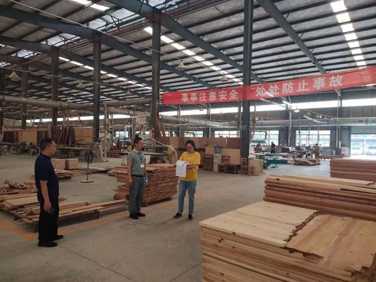 浙江蒲江县开展节前木材加工企业安全生产专项检查