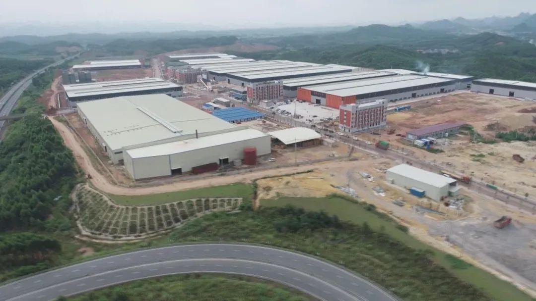 广西来宾10个木材产业项目集中开竣工