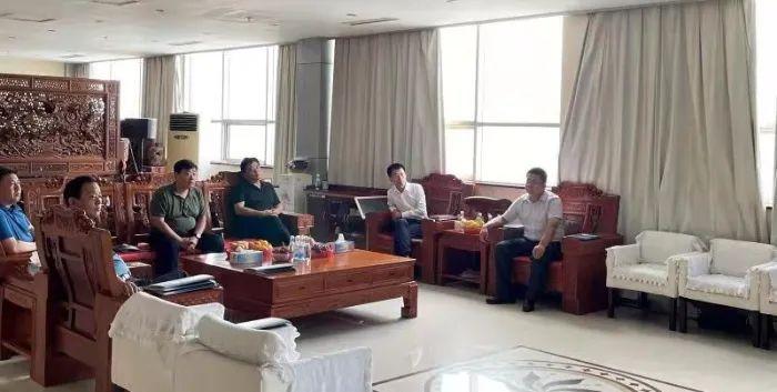 菏泽单县领导赴临沂考察木材加工项目