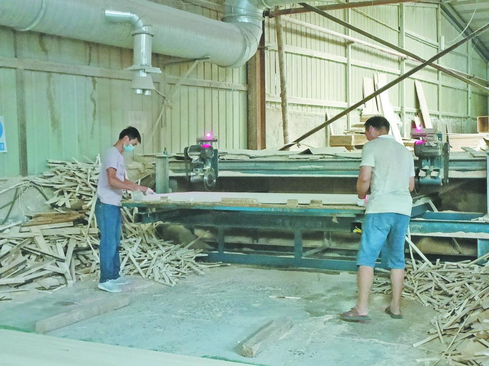 2020年山东菏泽大屯镇板材产值超59亿元