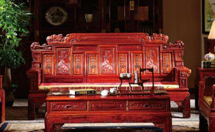 红檀木家具真假辨别和保养方法