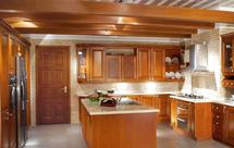 实木整体橱柜的使用和保养