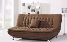 折叠沙发怎么放下来?
