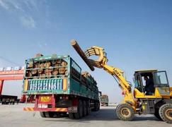 中国西部渐成中俄<font color=#FF0000>木材贸易</font>投资热土
