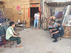 西雙版納勐臘縣對大型木材加工廠涉黑涉惡案件線索大排查