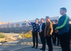 张志东一行莅临温州木材集团开展节前安全大检查