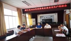 贵州麻江林业局对林业企业进行安全生产约谈