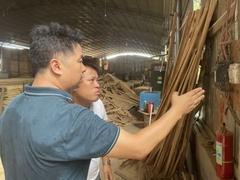 湖南靖州:多部门联合≡开展木材加工厂执法检查