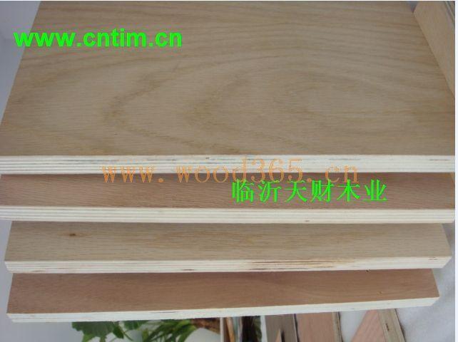 不释放甲醛CARB E0全杨木板式家具用胶合板、多层板、夹板