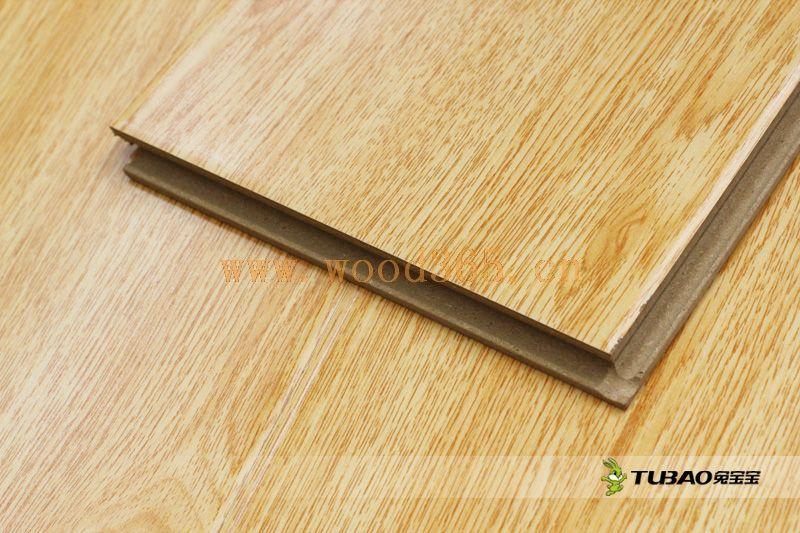 供应兔宝宝强化地板:平面大模压系列DM3005