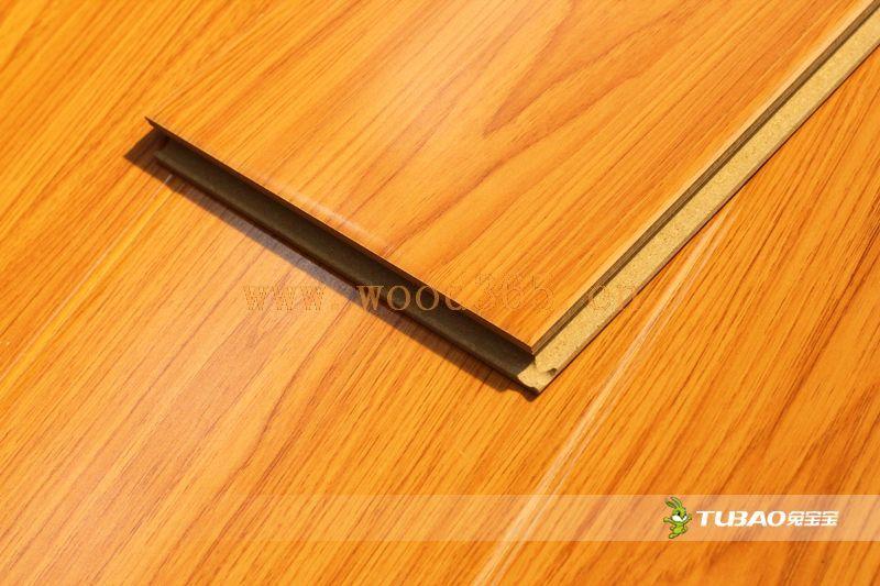 供应兔宝宝强化地板:平面大模压系列DM3006