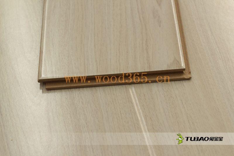 供应兔宝宝强化地板:平面大模压系列DM3007