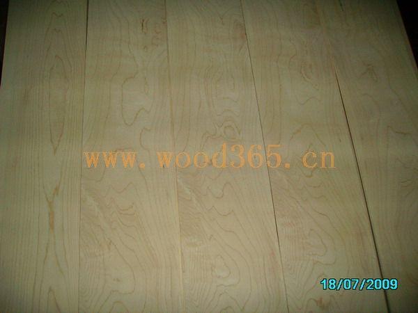 加拿大枫木地板薄片